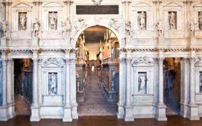 Teatro Olimpico Vicenza (Italia). Andrea Palladio 1580