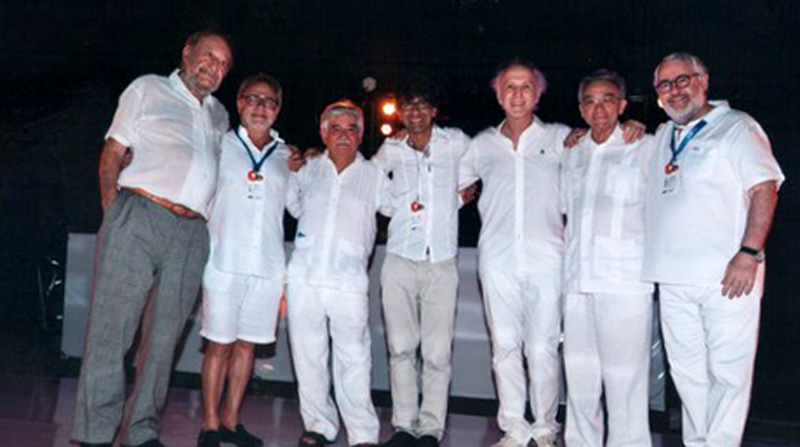 Ex presidentes FEPAL